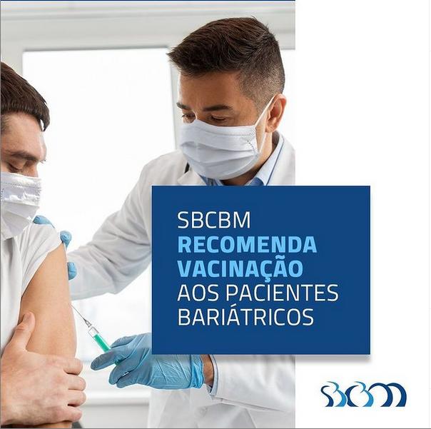 SBCBM recomenda vacinação aos pacientes bariátricos - IMS